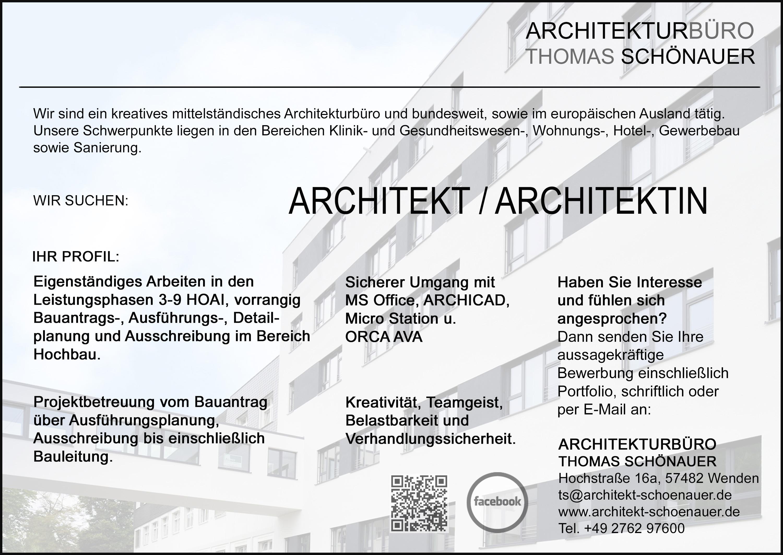 stellenangebot f r architekt architektin in wenden On stellenangebote architekt