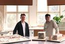 v.l.n.r.: Die beiden Absolventen Felix Schmidt und Julian Iseli (c) Julian Iseli und Felix Schmidt