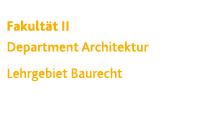 Architektur | Baurecht
